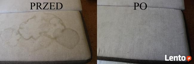 Pranie tapicerki meblowej Czyszczenie dywanów odbiór Gratis