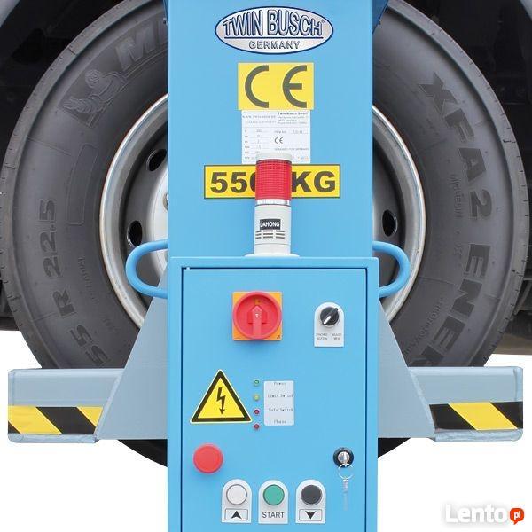 Wyposażenie warsztatu podnośnik do samochodów ciężarowych DE