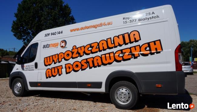 automega24 samochody dostawcze na wynajem Dobowy Najtaniej