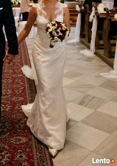 Tylko na zewnątrz Archiwalne Zjawiskowa suknia ślubna Euphoria Tarnów IF89