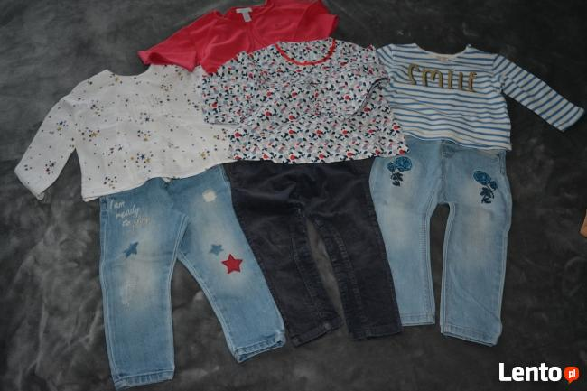 Śliczne ubranka dla dziewczynki i chłopca roz.62,68,74,80,86