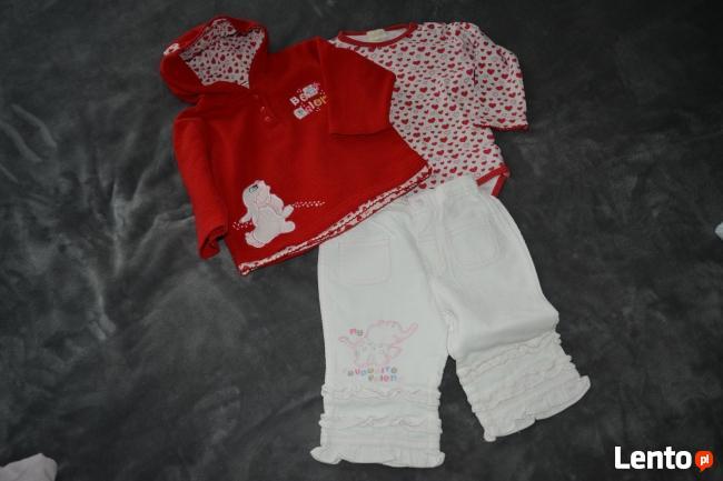 Śliczne ubranka dla małej dziewczynki