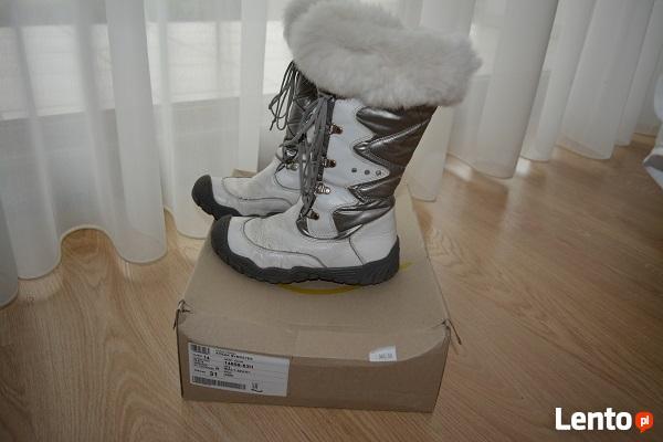 Ciepłe buty Bartka dla dziewczynki roz .31