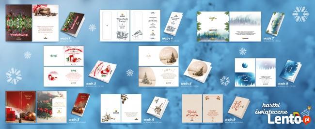 Firmowe kartki świąteczne z logo oraz życzeniami #OPOLE