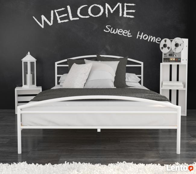 łóżko Metalowe Do Sypialni Wzór 19 Producent Lak System