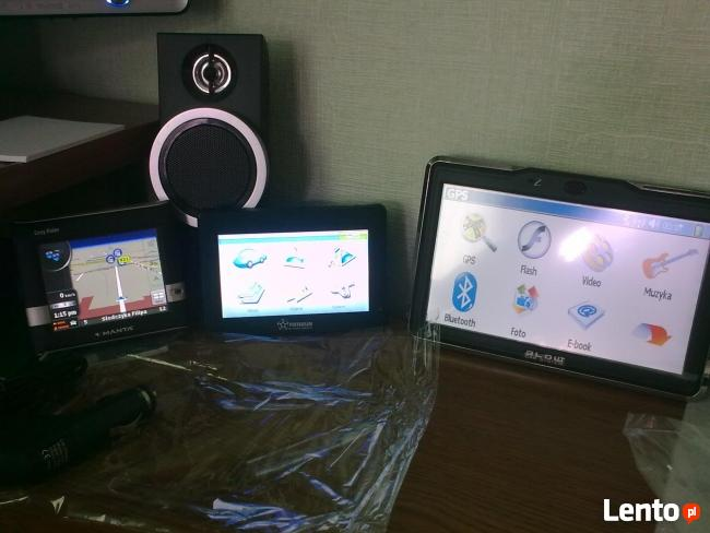 Serwis urządzeń GPS - nawigacja. Naprawa i aktualizacja map