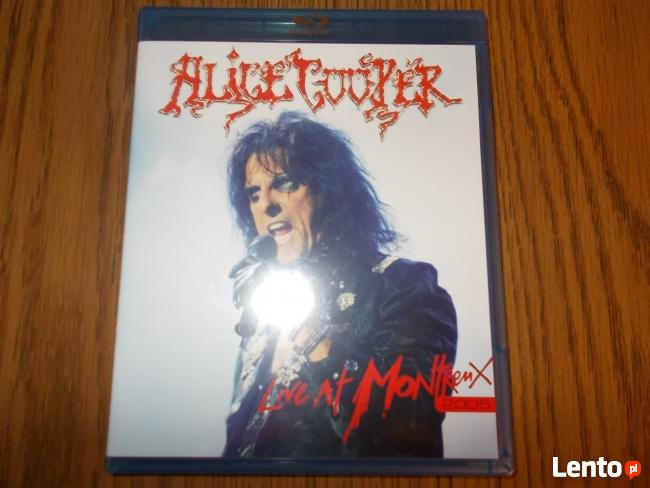 Sprzedam Blu Ray Koncert legendy Hard rock-a Alice Cooper