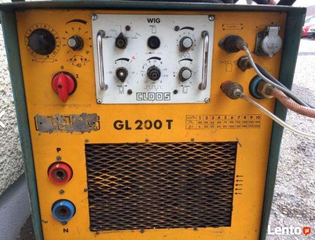 CLOOS GL200T Spawarka Tig chłodzona cieczą