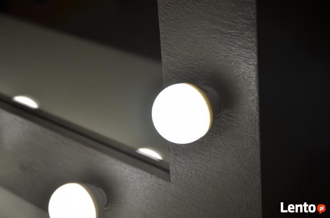 Lustro Z oświetleniem Led,Nowy Trend,Fryzjer, Wizażystka, Ma