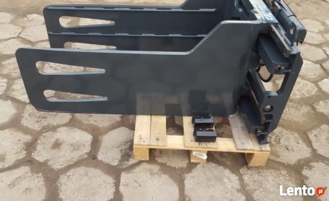Chwytak do bel Makulatury Ścisk do wózka widłowego Kaup ISO2