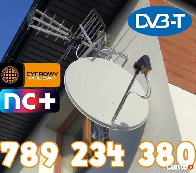 Montaż Serwis Ustawianie Anten TV Białołęka Targówek od 70zł
