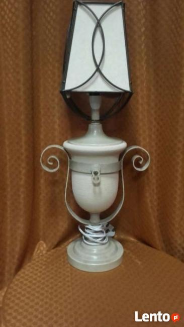 Lampka beżowa - wyprzedaż