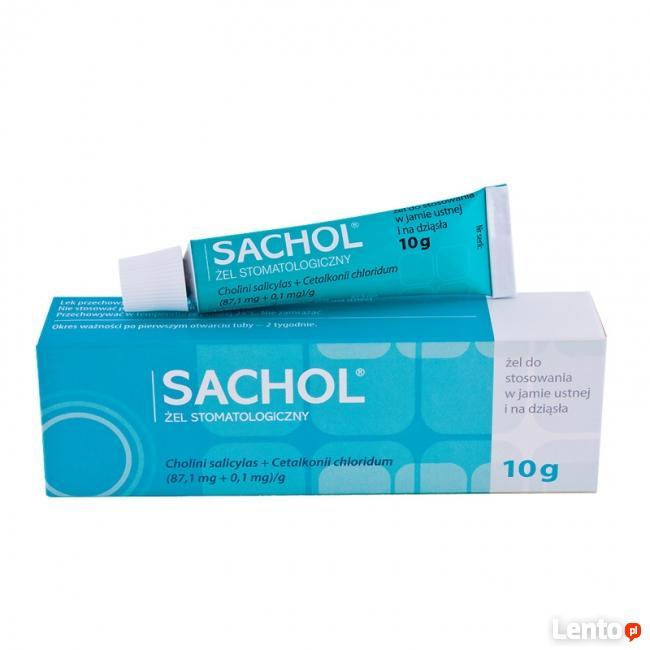Sachol żel stomatologiczny 10g