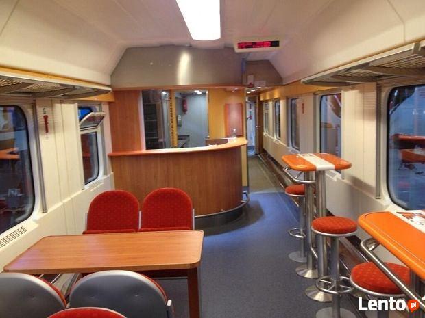 AKTUALNE! Kelner/kelnerka pomoc kuchenna w pociągu InterCity