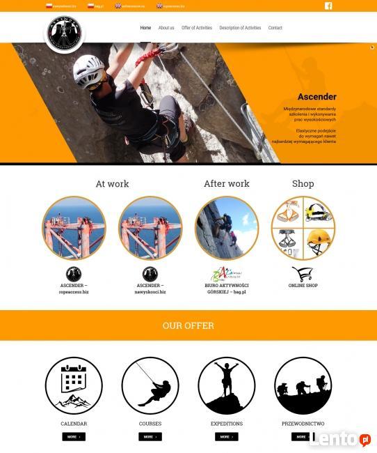 Strona wizytówka, strona firmowa, strona www, sklep internet