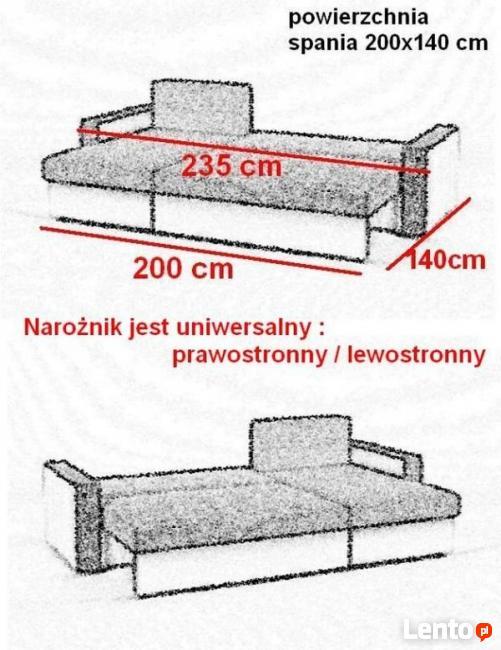 Piękny Nowy Narożnik/Rogówka-Gratis dostawa