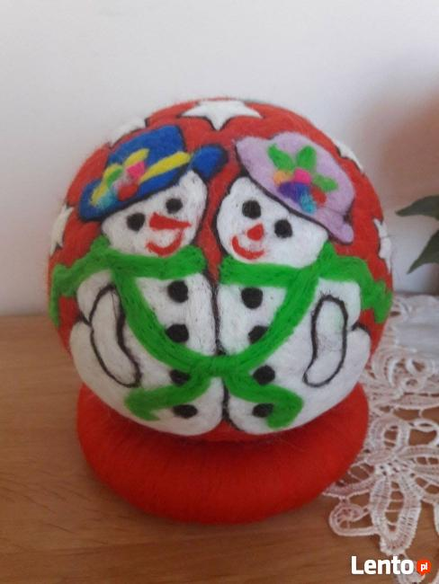BOMBKI nietłukące się, idealne dekoracje na święta - 15 cm