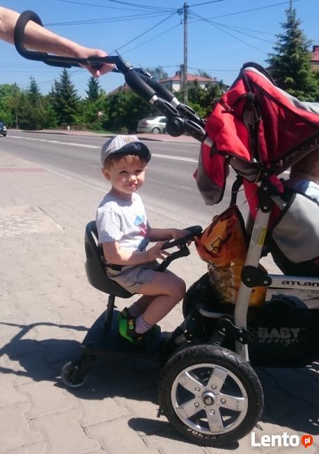 Dostawka do wózka 2 koła buggy board x-rider + POKROWIEC