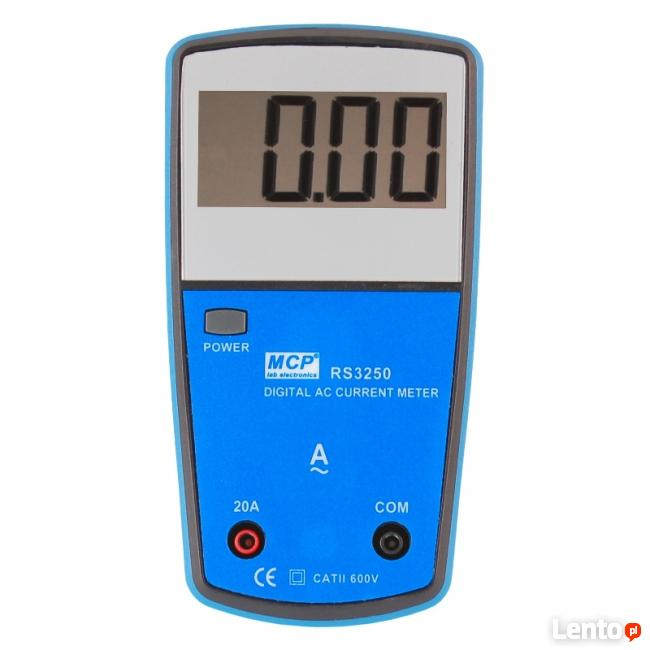 Amperomierz AC szkolny cyfrowy MCP RS-3250