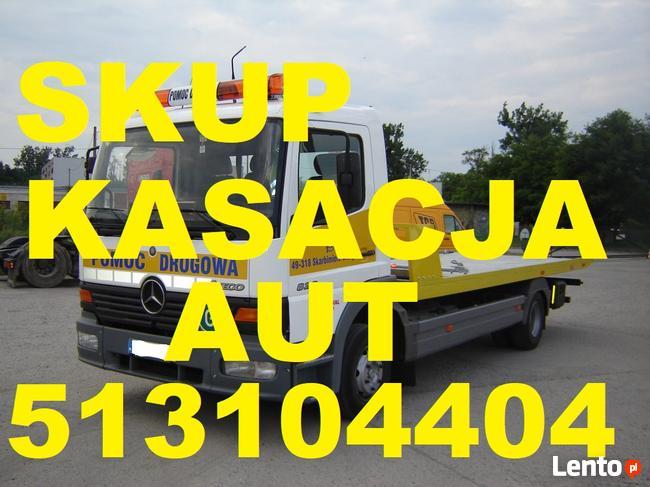 ✅Skup Aut Auto Kasacja Złomowanie Recykling 513104404 Każdy