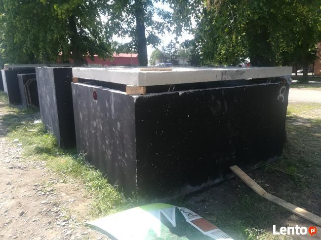 Tanie szamba betonowe zbiorniki szambo PRODUCENT