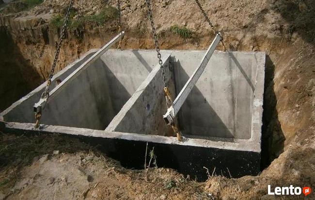 4-12m3 zbiorniki szamba betonowe szambo