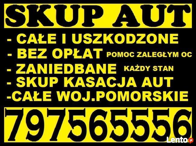 Skup Pojazdów Skup Aut Gdańsk 797565556 Całe Pomorskie
