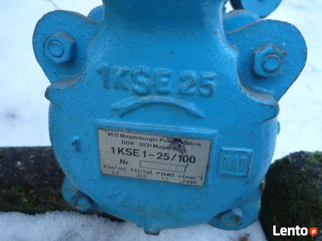 Sprzedam pompę elektryczną 1 KSE 1 - 220V / 1,1 KW.