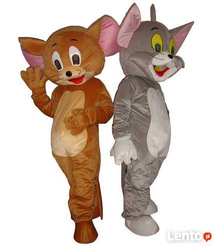 TOM i JERRY Chodząca żywa duża maskotka Kostium reklamowy