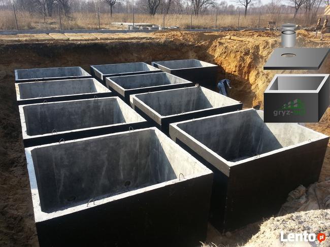 szambo wodoszczelne ekologiczne szamba betonowe zbiornik 4m3