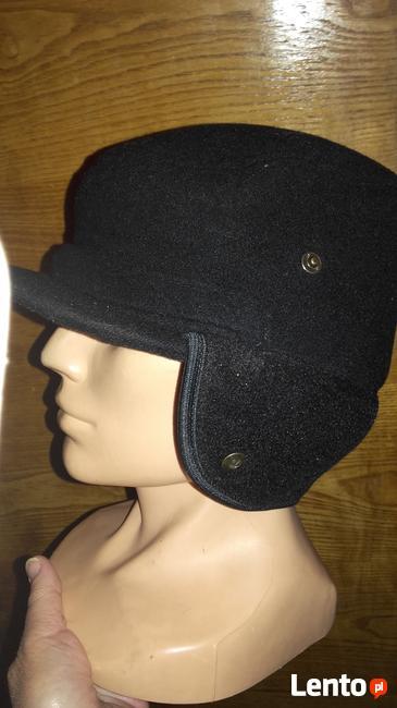 Nowa męska czapka z nausznikami 56 5960 likw sklep