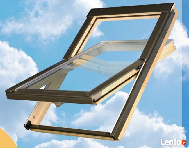Okno okna dachowe z kołnierzem 78x140 cm 644,78zł