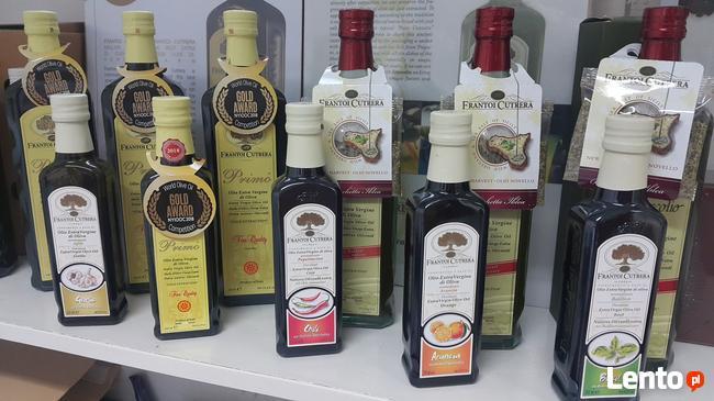 Zdrowy tłuszcz Oliwa z oliwek Extra Vergine Cutrera