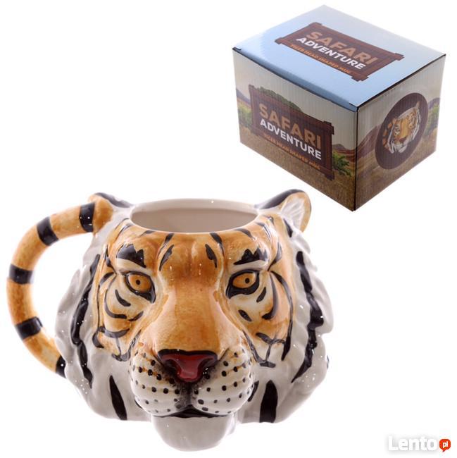 Tygrysi kubek, tiger, kubek w kształcie tygrysa