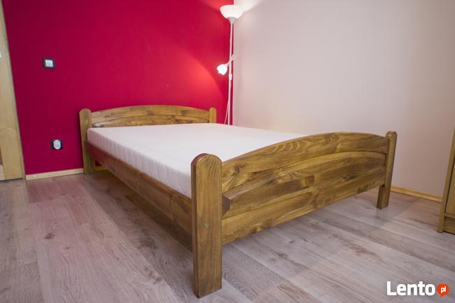 łóżko Drewniane Sosnowe Beki 140x200 W 5 Kolorach Sucha