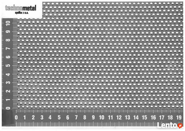 Wspaniały blacha perforowana nierdzewna gr 2 mm 1000x1000 Mikołów LN46