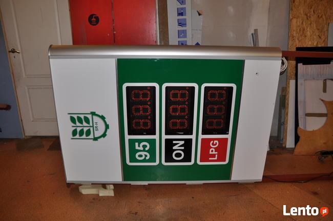 Mały pylon cenowy LED na stacje paliw - super cena
