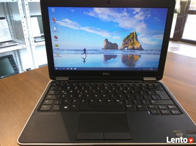 Ultracienki Lekki Laptop Dell E7240 i5 4GB SSD Win10 GW12