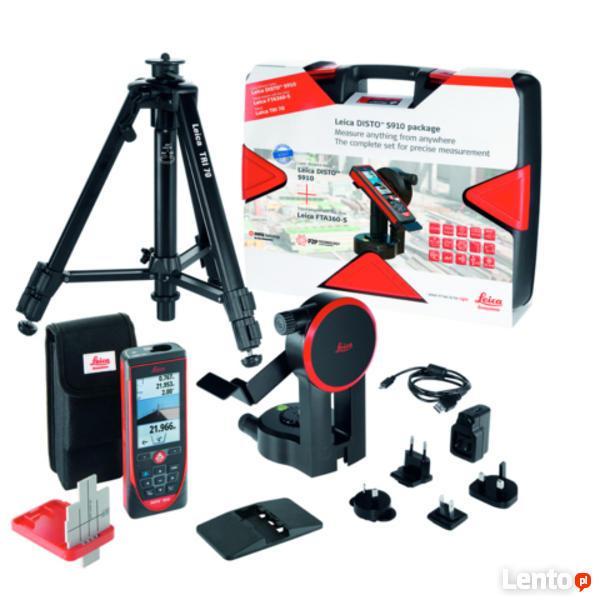 Dalmierz Leica Disto S910 ProPack pomiary ze zdjęć