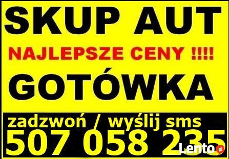 AUTO SKUP AUT SKUP SAMOCHODÓW KRAKÓW MAŁOPOLSKA Tel507058235