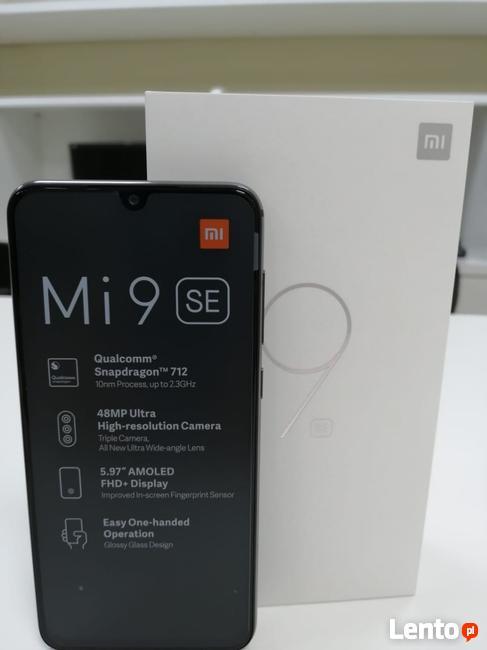 Xiaomi Mi 9 se Ocean Blue 64GB / Gwarancja 24 miesiące + gra