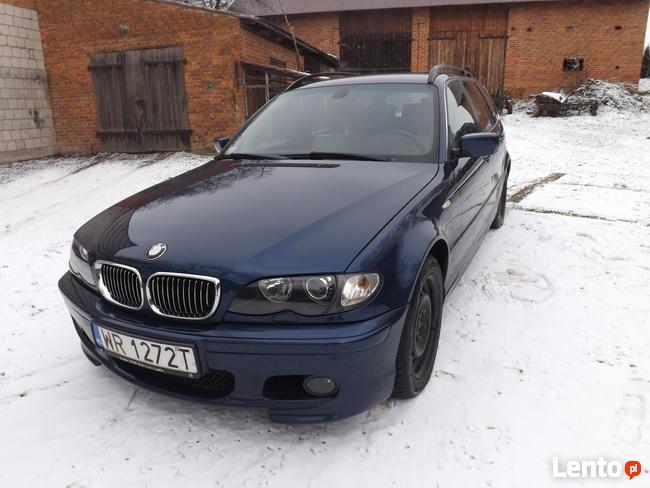 BMW seria 3 E46 320d M-pakiet