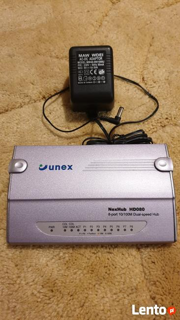Unex NexHub HA080 8 Port 10/100Mbps