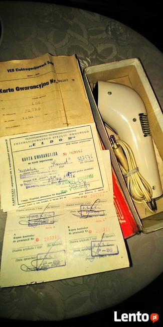 Kolekcjonerska suszarka do włosów Komet NRD