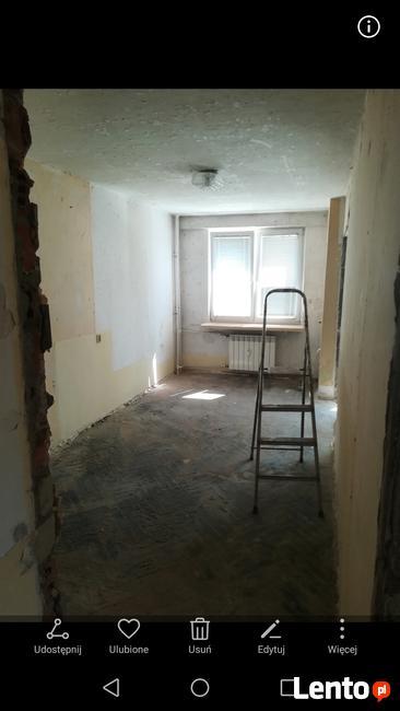 Gruz wyburzenia szykowanie pod remont mieszkania