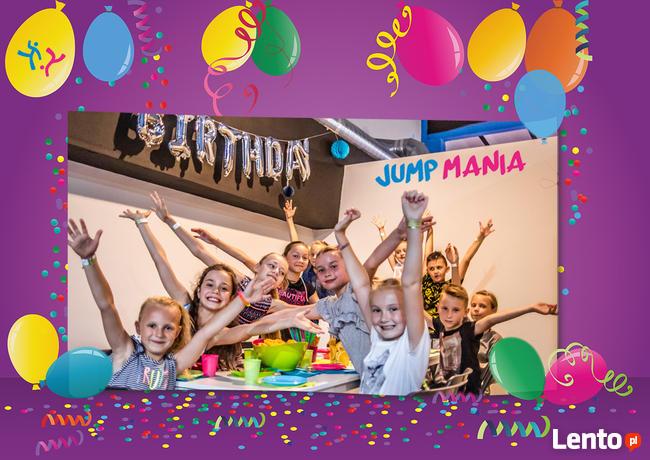 Urodziny dla 10 osób w Jump Manii