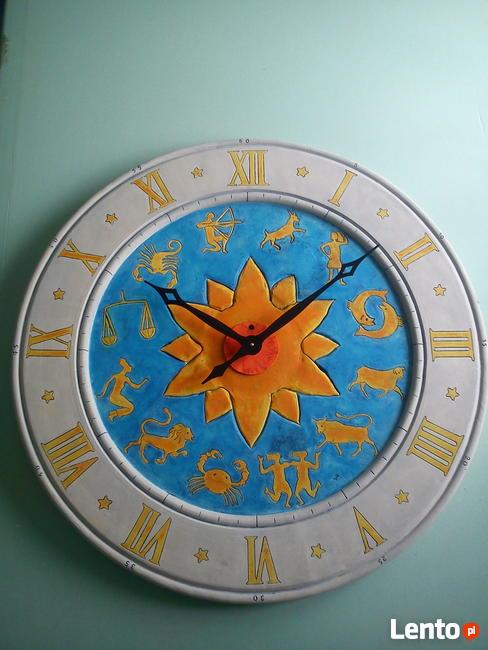Zegar z zodiakiem