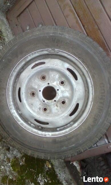Opona felga 15C Continental Vanco 195/70