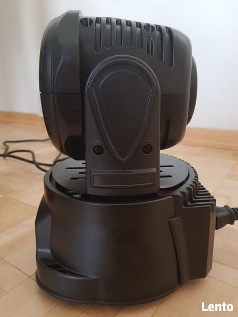 Nowa ruchoma głowa Lixada 105W LED RGBW pilot