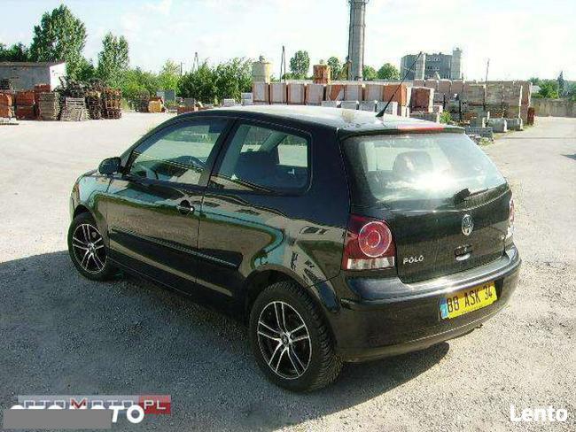 Volkswagen Polo 2006 1.2 b czarne alusy klima